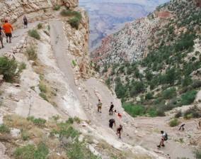 Grand Canyon south rim– Bright Angel trail