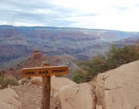 Grand Canyon– on the Bright Angel trail