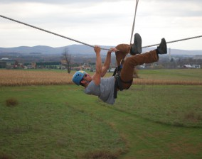 High Ropes Course at Upward Enterprises in Frederick