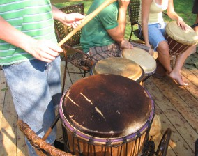 Drumming workshop