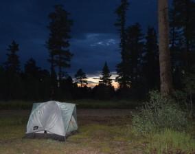 Camping at Grand Canyon North Rim
