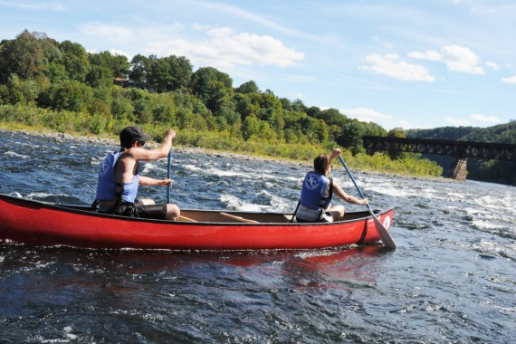 Potomac Pathways Wilderness Journey–Now canoeing on the Shenandoah River!