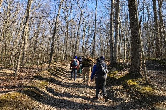 Nate Luongo, LCSW-C blogs about a recent weekend outdoor adventure…